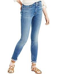 c33b2b76 Levi's Womens 721 High Rise Skinny Jeans in Uptown Indigo