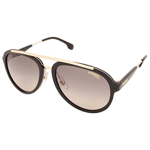 Carrera Unisex-Erwachsene 132/S PR 2M2 Sonnenbrille, Schwarz (Black Gold/GREYBROWN DS), 57