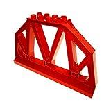 1 x Lego Duplo Stütze rot Gitter Träger Säule Ständer Brücken Pfeiler Geländer Eisenbahn Train 51559