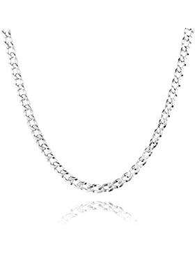 [Gesponsert]STERLL Herren-Kette aus massivem 925 Silber, ideal als Geschenk für Mann oder Freund, mit Schmuckbox