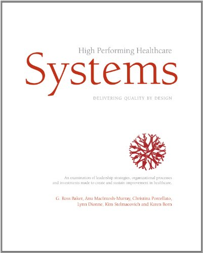 High Performing Healthcare Systems