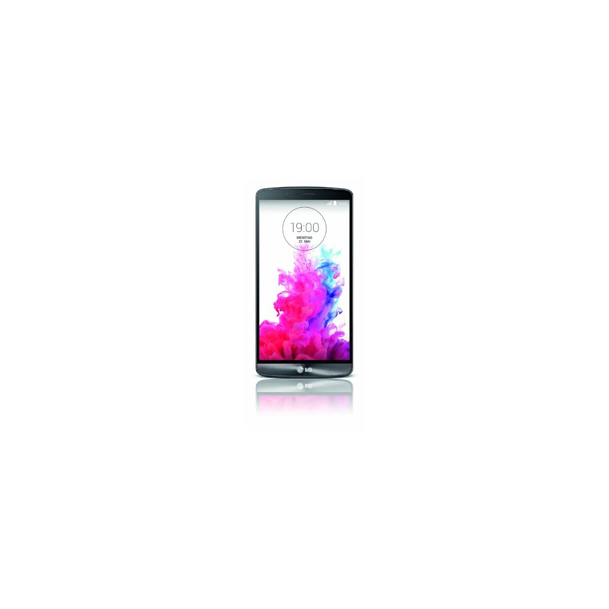 LG G3 Smartphone (14 cm (5,5 Zoll) Quad-HD-IPS-Display, 2.5-GHz-Quad-Core-Prozessor, 13-Megapixel-Kamera, 16 GB Speicher, Android 4.4)