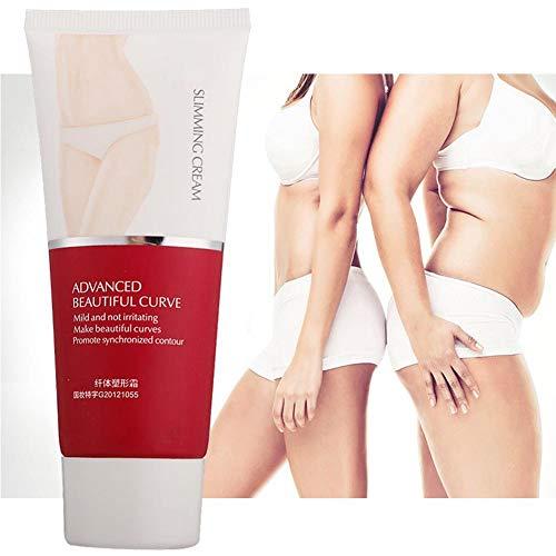Cellulite Creme, Slim Cream, Schlankheitscreme Körpermassagecreme reduzierendes Creme Körperfett Massagegel zum Abnehmen für Beine und Hüften