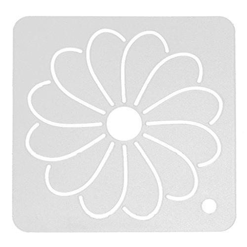 MagiDeal DIY Schablone Plastic Quilting Schablone Quilt Werkzeug für Patchwork Malerei - Farbe 3, 12x12 cm (Malerei Stoff Quilten)