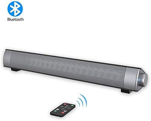 VersionTECH. Barra Sonido PC Altavoz Cable Inalámbrico