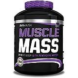 Biotech USA 11005020300 Muscle Mass Prise de Masse Saveur Fraise