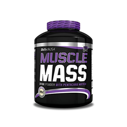 BiotechUSA Muscle Mass Vanille 2270 g