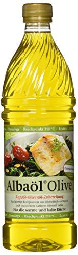 ALBAÖL OLIVE - Rapsöl-Olivenöl-Zubereitung der Profiköche 750ml, 3er Pack (3 x 750ml) -