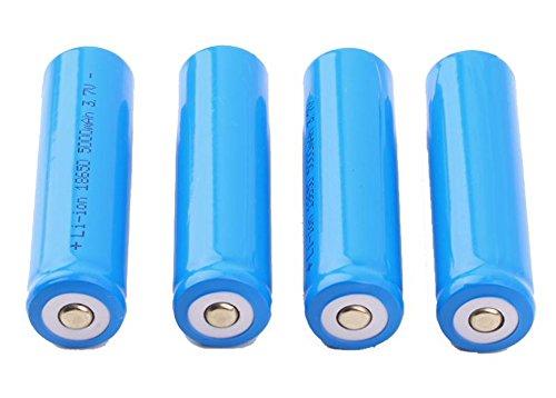 Preisvergleich Produktbild SaySure - 4 PCS Rechargeable Battery 18650 Li-ion 5000mAh 3.7V