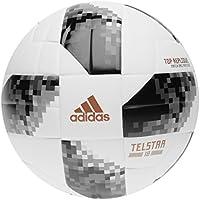 Adidas World Cup TOPR Balón, Hombre, (Blanco/Negro/Plamet), 4