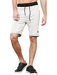 Skult By Shahid Kapoor Men's Cotton Shorts - B076BNCH1R