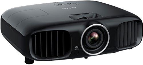 Bild 3: Epson EH-TW6100 3D Heimkino 3LCD-Projektor (Full HD 1080p, 2.300 Lumen Weiß & Farbhelligkeit, 40.000:1 Kontrast, 2x HDMI (1x MHL), inkl. 1x 3D Brille) schwarz