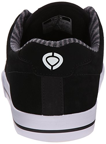 C1RCA  Lopez  50, Sneakers basses mixte adulte Black/White