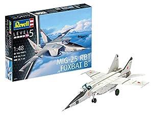 Revell-MiG-25 RBT FOXBAT B, Kit de Modelo, Escala 1: 48 (3931) (03931), Multicolor, 46,7cm