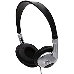 Ubon UB-210 Super Bass Stereo Headphone UB-210 Professional Hi-Fi Stereo Headphone (Color white black) - with out mic (By KunhaR™)