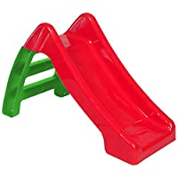 Kids Slide Outdoor Garden Plastic Children Toys Indoor Playground Play Red/Green