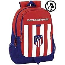Safta Mochila Escolar Atlético De Madrid Oficial 320x160x440mm