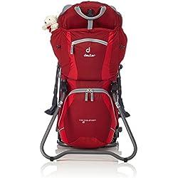 Deuter 36514-5560 Sac à dos Cranberry/Fire Taille : 72 x 43 x 32 cm, 14 L