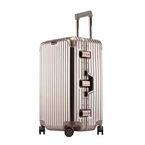 TY&GH Valise Rigide Ultra Légère en Abs - Chariot De Transport De Bagages Cabine - Valise À 4 Roues 32\