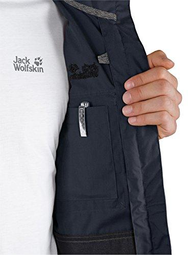 Jack wolfskin atlas road veste pour homme Bleu - Bleu marine