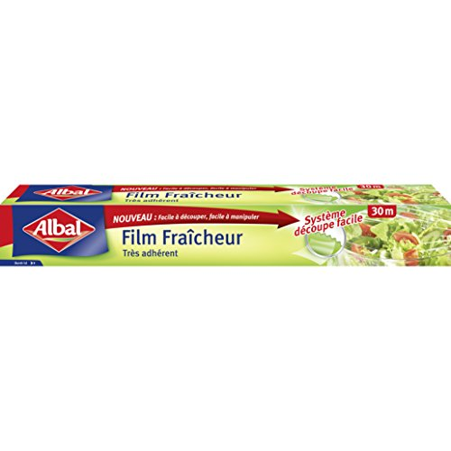 cc8403943 Albal Film Alimentaire, Extra Large 32,5 cm, Facile a Decouper, 30