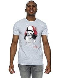 Star Wars Homme The Last Jedi Stormtrooper Brushed T-Shirt