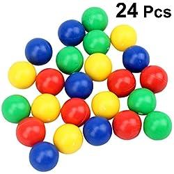 Pack con 24 Canicas de colores