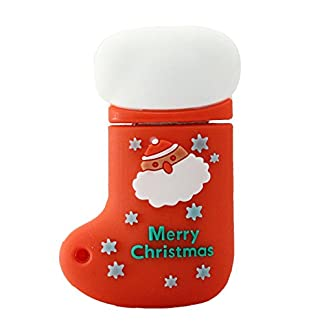 Calcetines de Navidad Modelo USB Flash pendrive USB Stick Thumb Drive Flash Memory