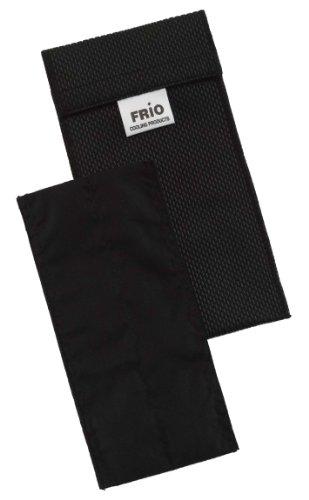 Frio Doppel Kühltasche für Insulin, 8 x 18 cm, Schwarz