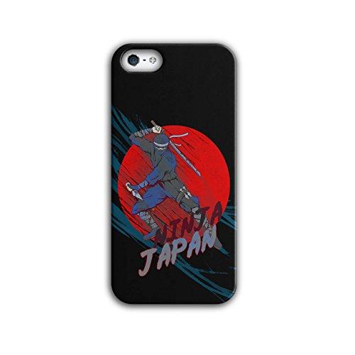 Japan Ninja Cool Fantasie Schwert Krieger iPhone 5 / 5S Hülle | (Krieger Ninja Frau)