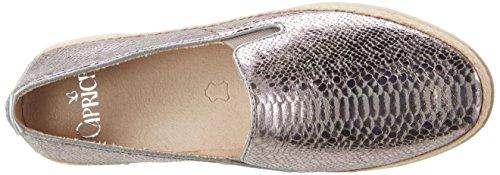 Caprice 24201, Mocassini Donna Grigio (Grey Reptile)