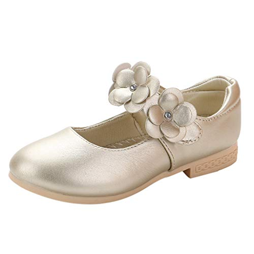 n Prinzessin Bowknot Rutschfest Weiche Sohle Krabbelschuhe Rosa Leather Bowknot Single Princess Shoes Sandals ()