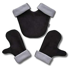 Partnerhandschuhe aus Doppelfleece – in Deutschland hergestellt –