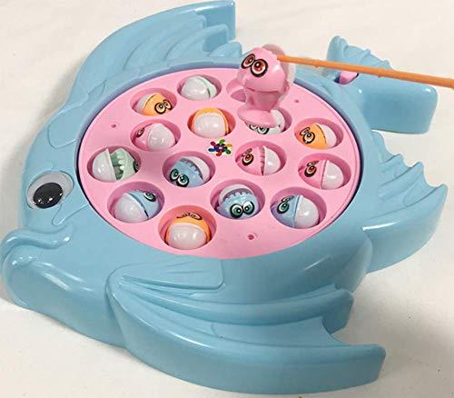 OOFAY 2 in 1 magnetisches Angelspiel, Magnetisches Angelspielzeug, Kinder entwickeln intellektuelles Spielzeug, Hölzernes magnetisches Alphabetfischenspielzeug,A