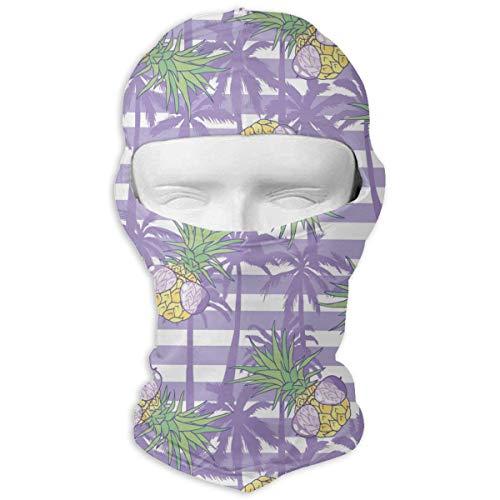 Xukmefat Ananas mit Kokosnussbaum Tactical Multi Use Sport Gesichtsmaske Leichtes Bandana zum Wandern, ()