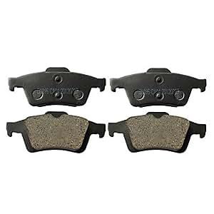 oem remplacement Kit de plaquettes de frein arrière pour Mazda5 2011-2012