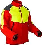 Pfanner Schnittschutz Jacke Baumpfleger Klasse 1, Farbe:rot;Größe:XL