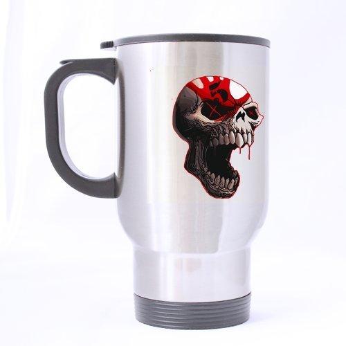 5 Fdp Cool Logo Tête de Mort personnalisée Motif Mug de Voyage Mug à café Creative Sport Tasse personnalisée Tasse à thé 396,9 Gram