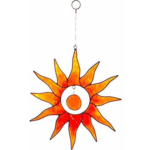 Sonne orange Suncatcher