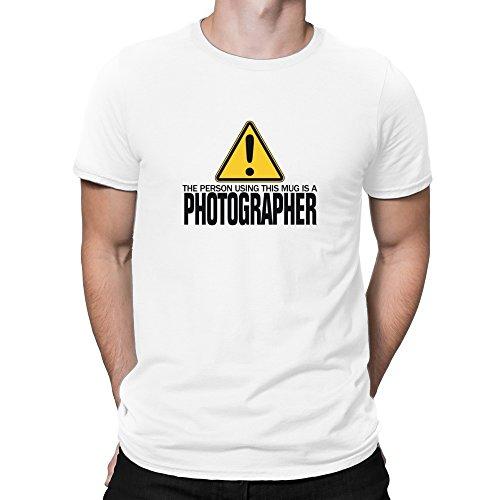 Teeburon The Person Using This MUG IS A Photographer Camiseta