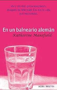 En un balneario alemán par Katherine Mansfield