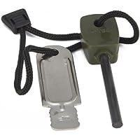 Pietra focaia di sopravvivenza per camping Kit in acciaio per l'accensione del fuoco per Campeggio Trekking Kit di accensione del fuoco più leggero Piccolo