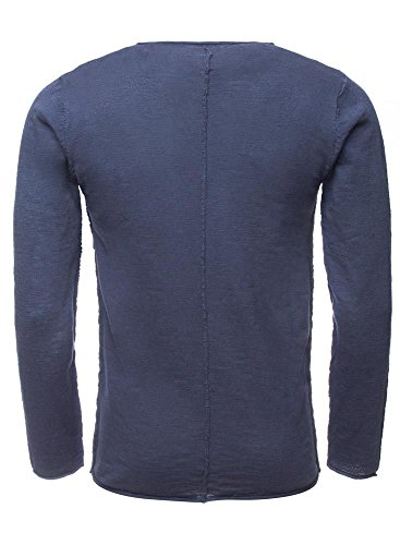 !Solid Herren Pullover Knit - Baxley Blau