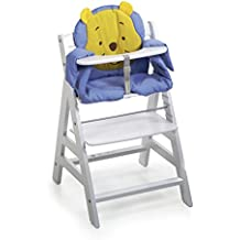 Hauck 667965 - Cojín para trona, diseño de Winnie the Pooh (respaldo: 35 x 35 cm, asiento: 44 x 25 cm), color azul