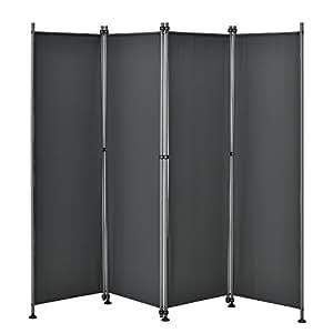 outdoor trennwand 170 x 215cm paravent sichtschutz spanische wand garten grau. Black Bedroom Furniture Sets. Home Design Ideas