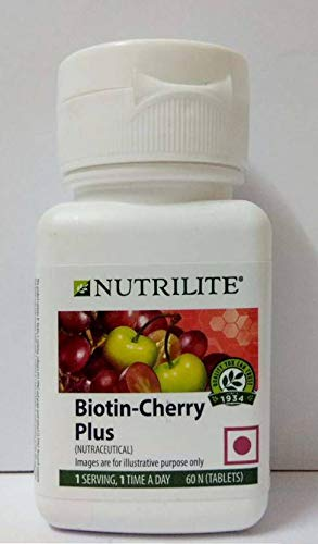 Biotina C Plus biológica NUTRILITE - Pelo Piel y Uñas (90 comprimidos). Este complemento alimenticio contiene biotina, vitamina C y...