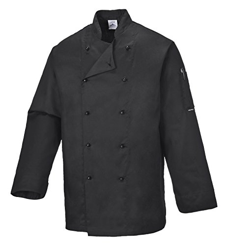 portwest-c834bkrm-giacca-da-chef-somerset-nero-m