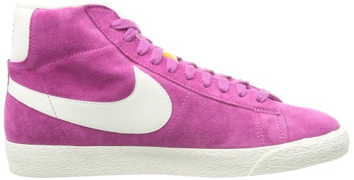 Nike Blazer Mid Suede Vintage 518171, Damen Hohe Sneakers Rosa (Club Pink/Sail)