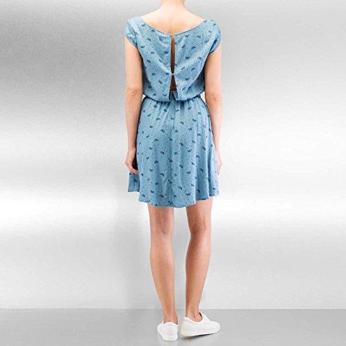 Ragwear Damen Kleider / Kleid Zephie Blau