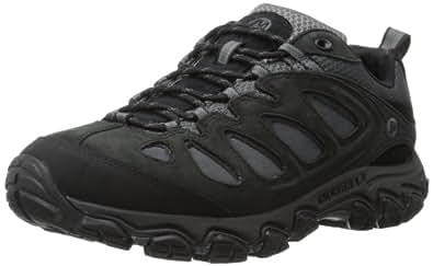 Merrell Pulsate, Men's Lace-Up Trekking and Hiking Shoes - Black (Black/Castle Rock), 9 UK
